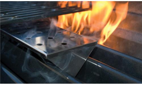 Bull Stainless Gas Grill V-Shape Smoker Box