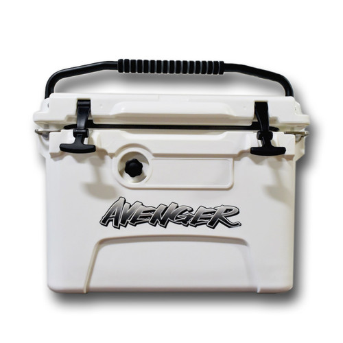 Avenger Hero Jr. 20-Quart Cooler - White