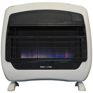 ProCom Select Liquid Propane Vent-Free Blue Flame Heater — 28,000 BTU, Model# ML300HBH
