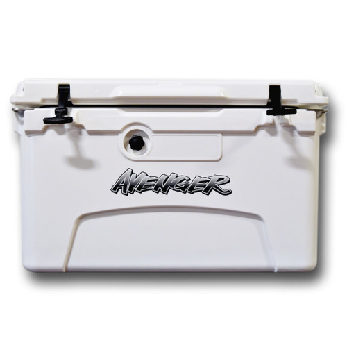 Avenger Hero 45-Quart Cooler in White