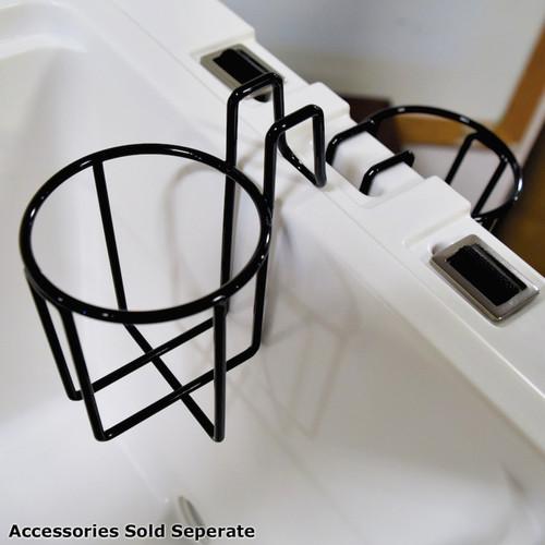 Wire Cup Holder for Avenger Hero 45-Quart Cooler