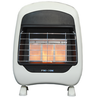 ProCom Select Natural Gas Vent-Free Plaque Heater — 18,000 BTU, Model# MN180HPH