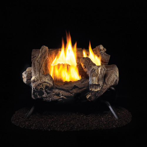 ProCom Ventless Propane Gas Log Set - 18in., 32,000 BTU
