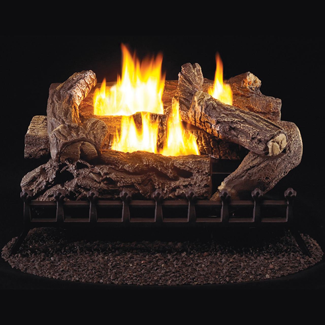 Procom Ventless Propane Gas Log Set 30in 40 000 Btu