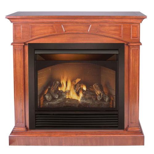 Duluth Forge Dual Fuel Ventless Gas Fireplace - 32,000 BTU