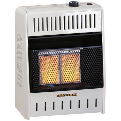 ProCom Recon Dual Fuel Ventless Infrared Plaque Heater