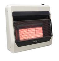 Lost River Dual Fuel Ventless Infrared Radiant Plaque Heater - 30,000 BTU, Model# PCI3TIR