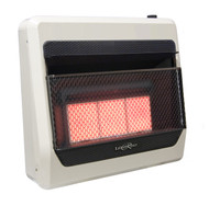 Lost River Dual Fuel Ventless Infrared Radiant Plaque Heater - 30,000 BTU