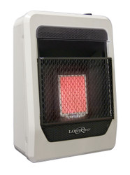 Lost River Dual Fuel Ventless Gas Space Heater, Infrared Plaque 10,000BTU.