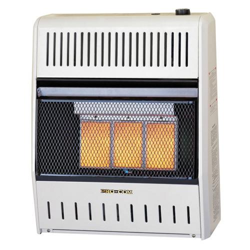 ProCom Reconditioned Dual Fuel Ventless Infrared Heater - 20,000 BTU.