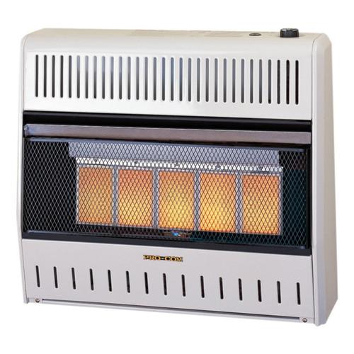 ProCom Reconditioned Dual Fuel Ventless Infrared Heater - 30,000 BTU.