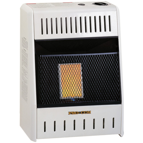 ProCom Liquid Propane Ventless Plaque Heater - 6,000 BTU, Model# ML060HPA
