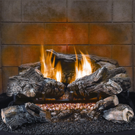 HearthSense Ambi Log Natural Gas Log Set — 18in., 30,000 BTU, Model# VF18NA-1B