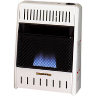 ProCom Dual Fuel Blue Flame Heater - 10,000 BTU, Model# MNSD100TBA