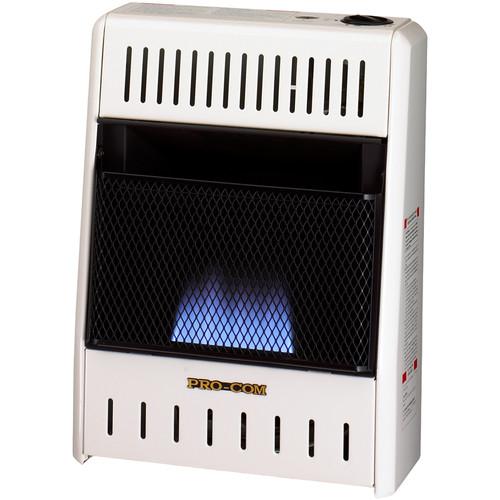 ProCom Reconditioned Natural Gas Vent-Free Blue Flame Heater - 6,000 BTU, Model# MN060HBA