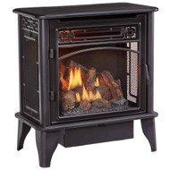 ProCom Gas Stove 3-Sided Dual Fuel Black - 23,000 BTU PCNSD25TA (170176)