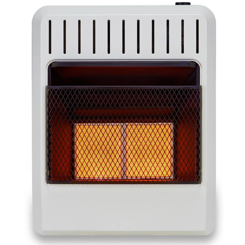 Avenger Dual Fuel Vent Free Infrared Heater with 20,000 BTU FDT2IRA - Front