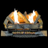 Reconditioned Dual Fuel Log Set - 24in., 35,000 BTU, Model# R-CRHED24RT