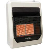 Lost River Natural Gas Ventless Infrared Radiant Plaque Heater - 20,000 BTU, Model# LR2TIR-NG (110090)