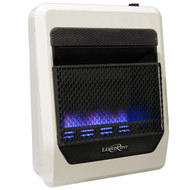 Lost River Liquid Propane Gas Ventless Blue Flame Gas Space Heater - 20,000 BTU, Model# LRT20B-LP