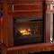 ProCom Select Dual Fuel Ventless Fireplace - 26,000 BTU, Heritage Cherry