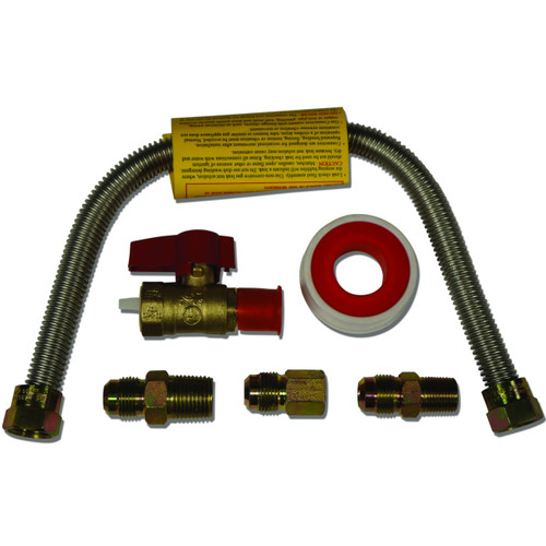 18 Quot Universal Gas Appliance Hook Up Kit Factory Buys Direct