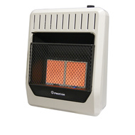 ProCom Heating Dual Fuel Ventless Infrared Plaque Heater - 20,000 BTU, Model# MG2TIR (110108)
