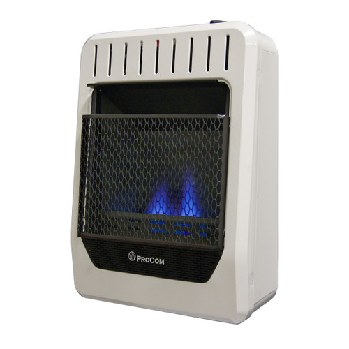 ProCom Recon Dual Fuel Ventless Blue Flame Heater - 10,000 BTU, Model# MG10HBF-R