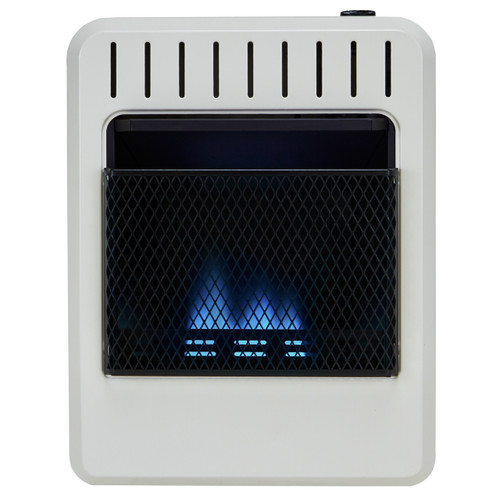 Avenger Recon Dual Fuel Ventless Blue Flame Gas Space Heater - 10K BTU