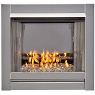 DF450SS-G Stainless Steel Outdoor Gas Fireplace Insert