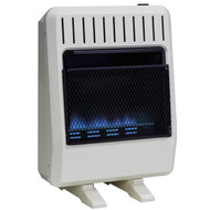 Avenger Dual Fuel Vent Free Blue Flame Heater with 20,000 BTU.  Optional Base Feet Available: SKU 190003