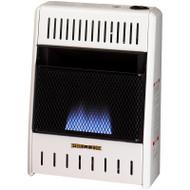 ProCom Dual Fuel Blue Flame Heater - 10,000 BTU, Model# MNSD100TBA
