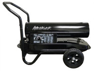 175,000 BTU Kerosene Diesel Forced Air Heater and Flat-free wheels