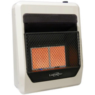 Lost River Liquid Propane Gas Ventless Infrared Radiant Plaque Heater - 18,000 BTU, Model# LR2TIR-LP (110089)