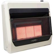 Lost River Liquid Propane Gas Ventless Infrared Radiant Plaque Heater - 28,000 BTU, Model# LR3TIR-LP (110091)