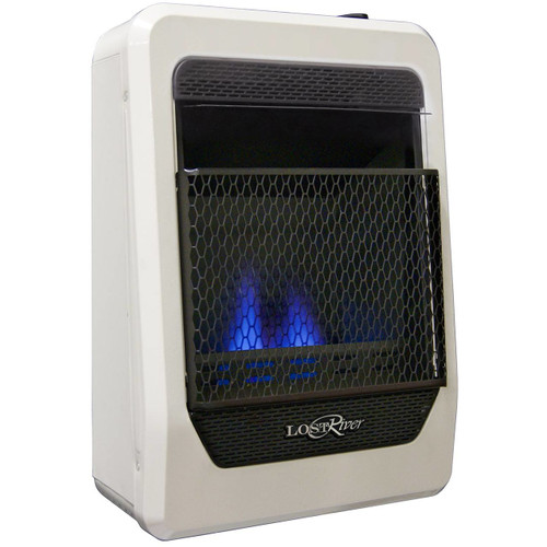 Lost River Liquid Propane Gas Ventless Blue Flame Gas Space Heater - 10,000 BTU, Model# LRT10B-LP (110093)