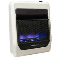 Lost River Liquid Propane Gas Ventless Blue Flame Gas Space Heater - 20,000 BTU, Model# LRT20B-LP