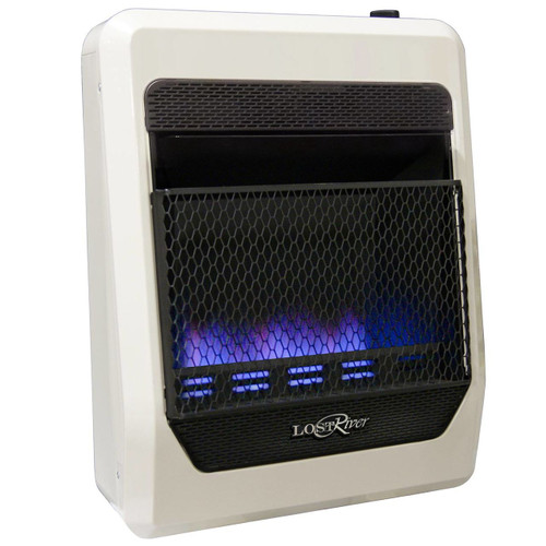 Lost River Natural Gas Ventless Blue Flame Gas Space Heater - 20,000 BTU, Model# LRT20B-NG (110096)