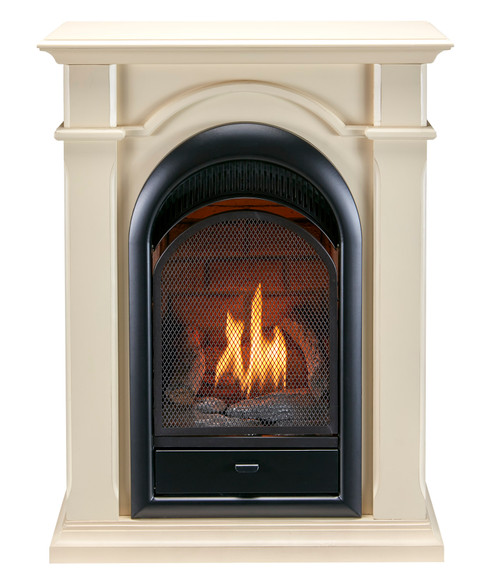 Economical and efficient, this fireplace system provides your family with the supplemental heat you need, without skimping on style or ambiance because our realistic logs and burner technology bring the most realistic look and feel of real fire to your home.