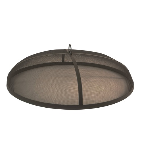 Bluegrass Living 33 Inch Steel Fire Pit Spark Screen Cover.