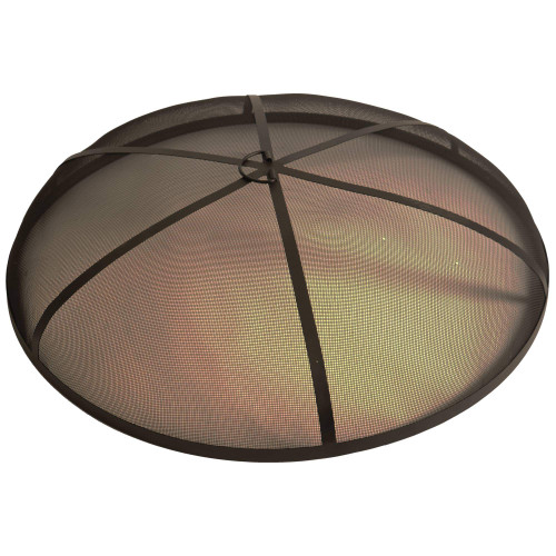 Bluegrass Living 36 Inch Steel Fire Pit Spark Screen Cover.