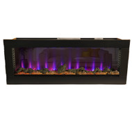 Bluegrass Living 50 Inch See Through Electric Fireplace - Model# CEFBD50H