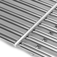 "Avenger 591S3 19 1/4"" Stainless Steel Cooking Grates Replacement for Select Gas Grills Models by Brinkmann, Charmglow, Costco, Jenn Air, Members Nexgrill, Perfect Flame SAMS Club and Others - Set of 3"