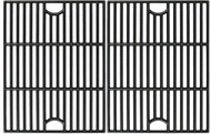 "Avenger 61192 17"" Polished Porcelain Coated Cast Iron Grill Grates  Replacement for Nexgrill 720-0888, 720-0670A, 720-0830H, Uniflame GBC981, Kenmore 41516106210 415.16106210 Gas Grill Grates, - Set of 2"