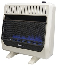 ProCom Ventless Dual Fuel Heater 30,000 BTU, T-Stat Control.