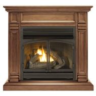 ProCom Dual Fuel Vent Free Gas Fireplace System - 32,000 BTU, Remote Control.