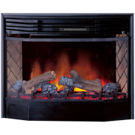 Full Size Electric Fireplace Insert With Remote Control - Model SIE33RE