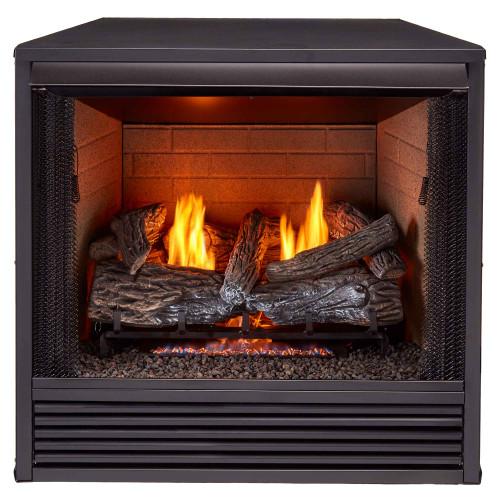 ProCom Reconditioned 32in. Universal Ventless Firebox Insert - Zero Clearance Design.