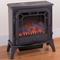 Electric Stove Fireplace - Black Finish - Model V50HYLD