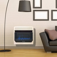 ProCom Heating Natural Gas Vent Free Blue Flame Gas Space Heater - 30,000 BTU, T-Stat Control - Model# MN300TBG